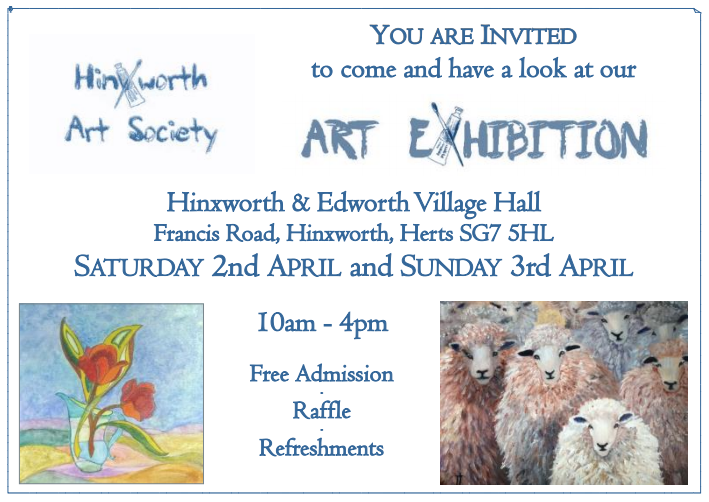 Hinxworth Art Society - Art Exhibition 2016