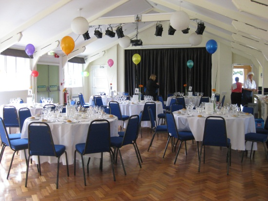 Village Hall - Round Tables 1